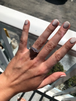 3. My First Photo of My Engagement Ring, Daytona Beach Florida