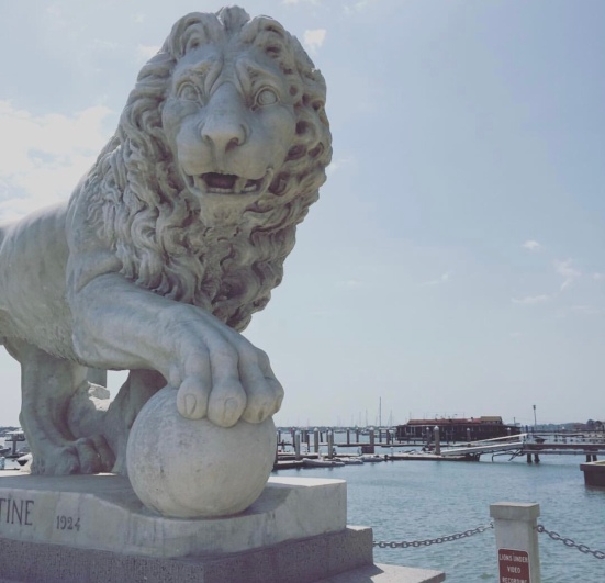 1. The Bridge of Lions, St. Augustine, Florida.